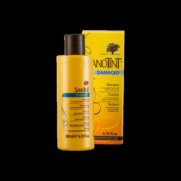 Шампунь для поврежденных волос Санотинт