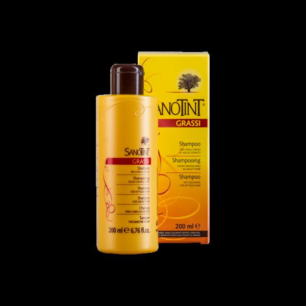 Шампунь для жирных волос Санотинт