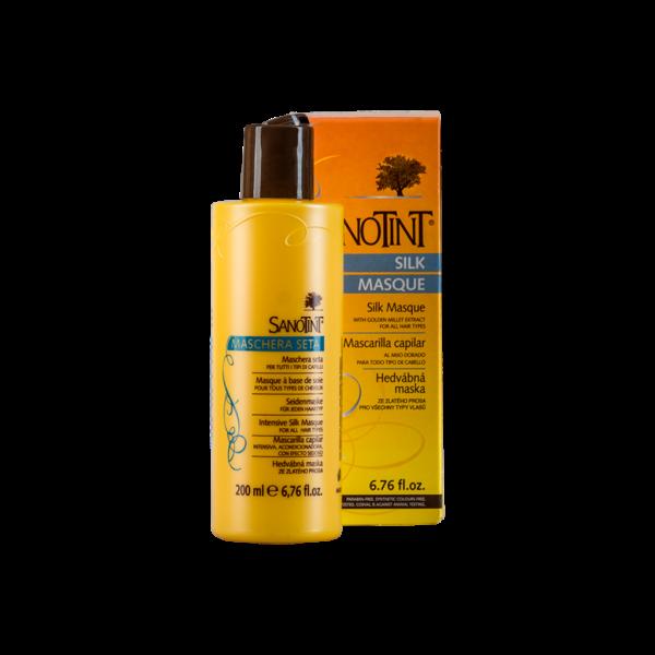 Шелковая Mаска для всех типов волос Санотинт